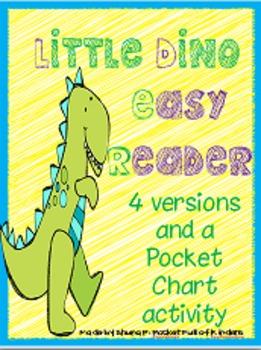Dino Easy Readers: Color Words