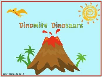 Dinomite Dinosaurs Math Facts