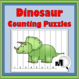 Dinosaurs Counting Puzzles