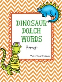 Dinosaur Dolch Words { Primer }