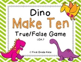 Dinosaur Make Ten {Freebie}