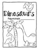 Dinosaur Non Fiction Writing Book
