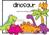 Dinosaur Unit- common core alligned