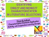 Direct and Indirect Characterization Mini-lesson and Group