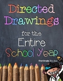 Directed Drawings for the Entire School Year: A Growing Bundle