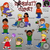 Disability Clipart - 45 images for personal or commercial use!