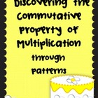 Discovering the Commutative Property of Multiplication Les