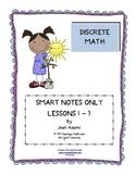 Discrete Math Unit: SMART BOARD LESSONS ONLY