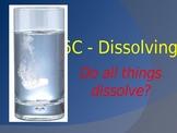 Dissolving - Intro, Investigation model & activities