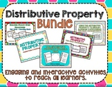 Distributive Property Bundle- Engaging activities to reach