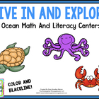 Dive In And Explore!  A Math & Literacy Creation!