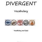 Divergent vocabulary
