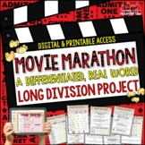 Long Division Math Project