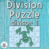 Division Puzzle Covers Divisor 1