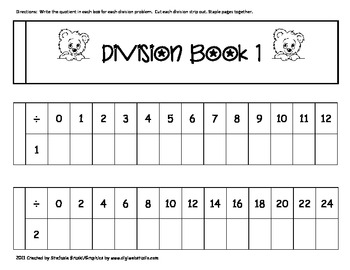 Division Strip Book