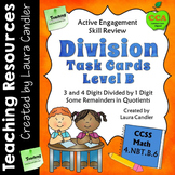 Division Task Cards (Level B - CCSS Aligned)