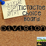 Division TicTacToe Extension Activities