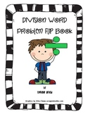 Division Word Problem Flip Book
