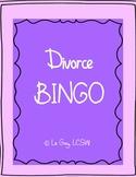 Divorce BINGO
