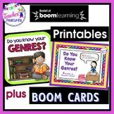 Reading Genres: Games & More!