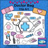 Doctor Bag Clip Art - First Aid Medical Supplies