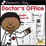 Doctor's Office Dramatic Play Printables for Pre-K and Kin