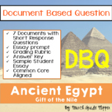 Document Based Question (DBQ) Ancient Egypt-Common Core St