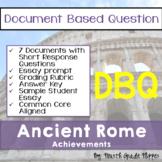 Document Based Question (DBQ) Ancient Rome-Common Core Sta