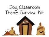 Dog Theme Classroom Survival Kit