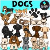 Dogs Clip Art Bundle