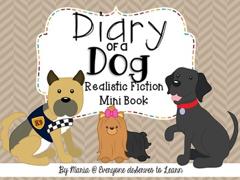All About Dogs (Comprehension Mini Book)