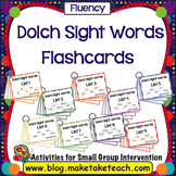 Dolch 220 Sight Words Flashcards