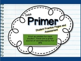 Dolch Primer - Practice Pages and Assessment