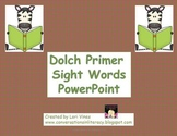 Dolch Primer Sight Words For Fluency
