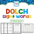 {FREEBIE} Dolch Sight Words: Grade 2 & 3