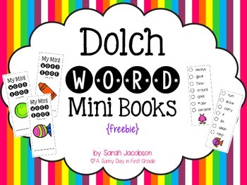 https://www.teacherspayteachers.com/Product/Dolch-Word-Mini-Books-freebie-1771654