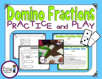 Domino Fractions {FREEBIE}