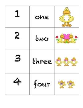 Domino Numbers- Ducky