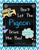 Don't Let the Pigeon Drive the Bus! Writing and Craft