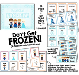 Don't Get Frozen!  A Dolch Sight Words Card Game
