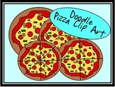 FREE Doodle Pizza Clip Art