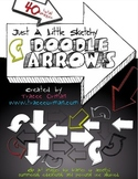 Doodle Sketches Arrows Clip Art Graphics for Commercial Use