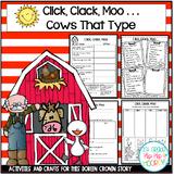 Doreen Cronin Stories...Click, Clack, Moo...Giggle, Giggle