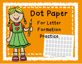 Dot Paper for Handwriting