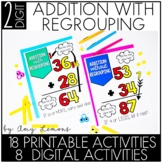 Double Digit Addition Activities (with regrouping)
