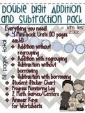 Double Digit Addition and Subtraction Mega-Pack