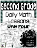 Double Digit Addition - Daily Math Lessons - Unit 4