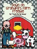 Down On Grandpa's Farm...a freebie!