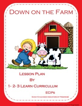 Down on the Farm Worksheets and Crafts