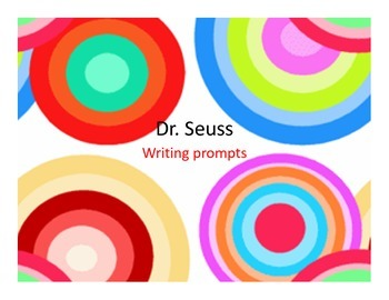 Dr. Seuss Themed Daily Writing Prompts